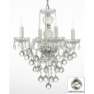 Rosdorf Park Hoffman 4-Light Candle Style..