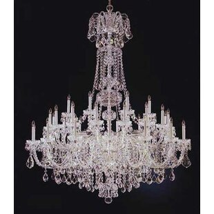 Schonbek Olde World 45-Light Chandelier