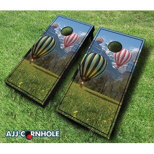 AJJ Cornhole Hot Air Balloon Cornhole Set
