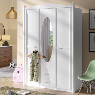 Lilly 3 Door Wardrobe By Rauch