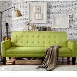 Sage Green Sleeper Sofa   Wayfair