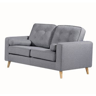Genovese Tufted Loveseat by George Oliver 2019 Online
