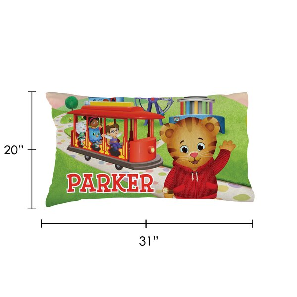 Cps Personalized Daniel Tiger Trolley Pillow Case Wayfair