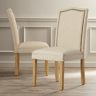 Asro Upholstered Parsons Chair (Set of 2) by Alcott Hill