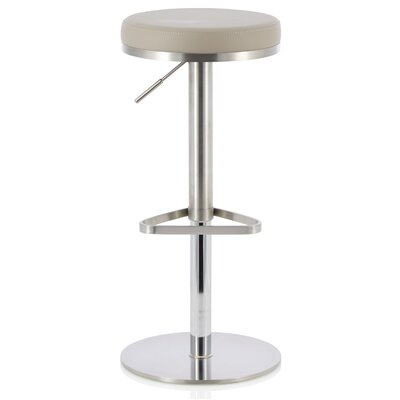 Brown Frame Adjustable Height Bar Stools You Ll Love