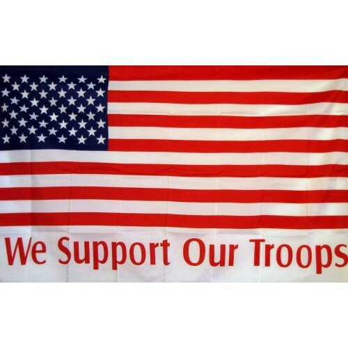 Neoplex We Support Our Troops Usa Traditional Flag Wayfair