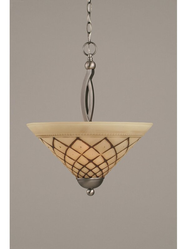 Fleur De Lis Living Blankenship 2 Light Single Bowl Pendant Wayfair