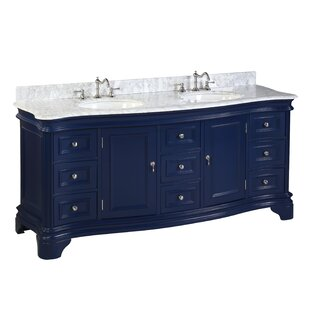 Katherine 72 Double Bathroom Vanity Set by Kitchen Bath Collection
