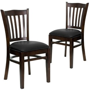 Charlton Home Hannum Upholstered Dining Chair (Set of 2)