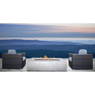 Defino 3 Piece Conversation Set with Cushions