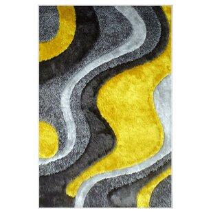 Winland Flow Yellow Indoor/Outdoor Rug Image