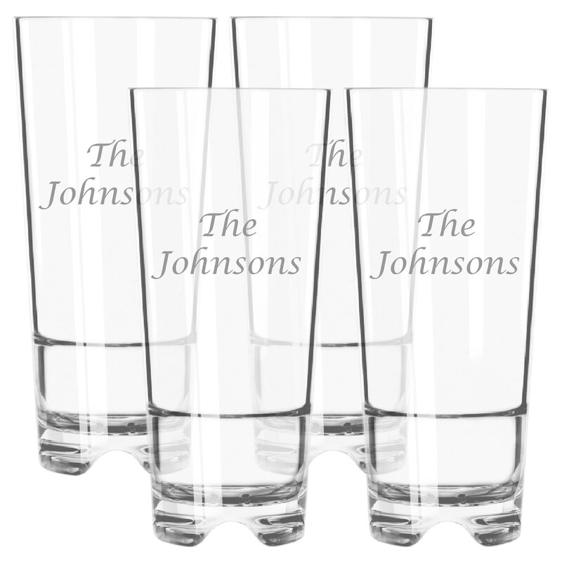 Carved Solutions Personalized Tritan 16 Oz Plastic Highball Glass Wayfair