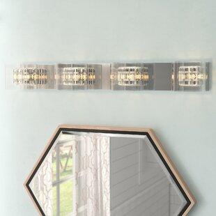 Reviews Artemisia 4-Light Bath Bar ByWilla Arlo Interiors