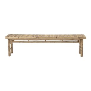Rosia Wooden Bench By Bay Isle Home