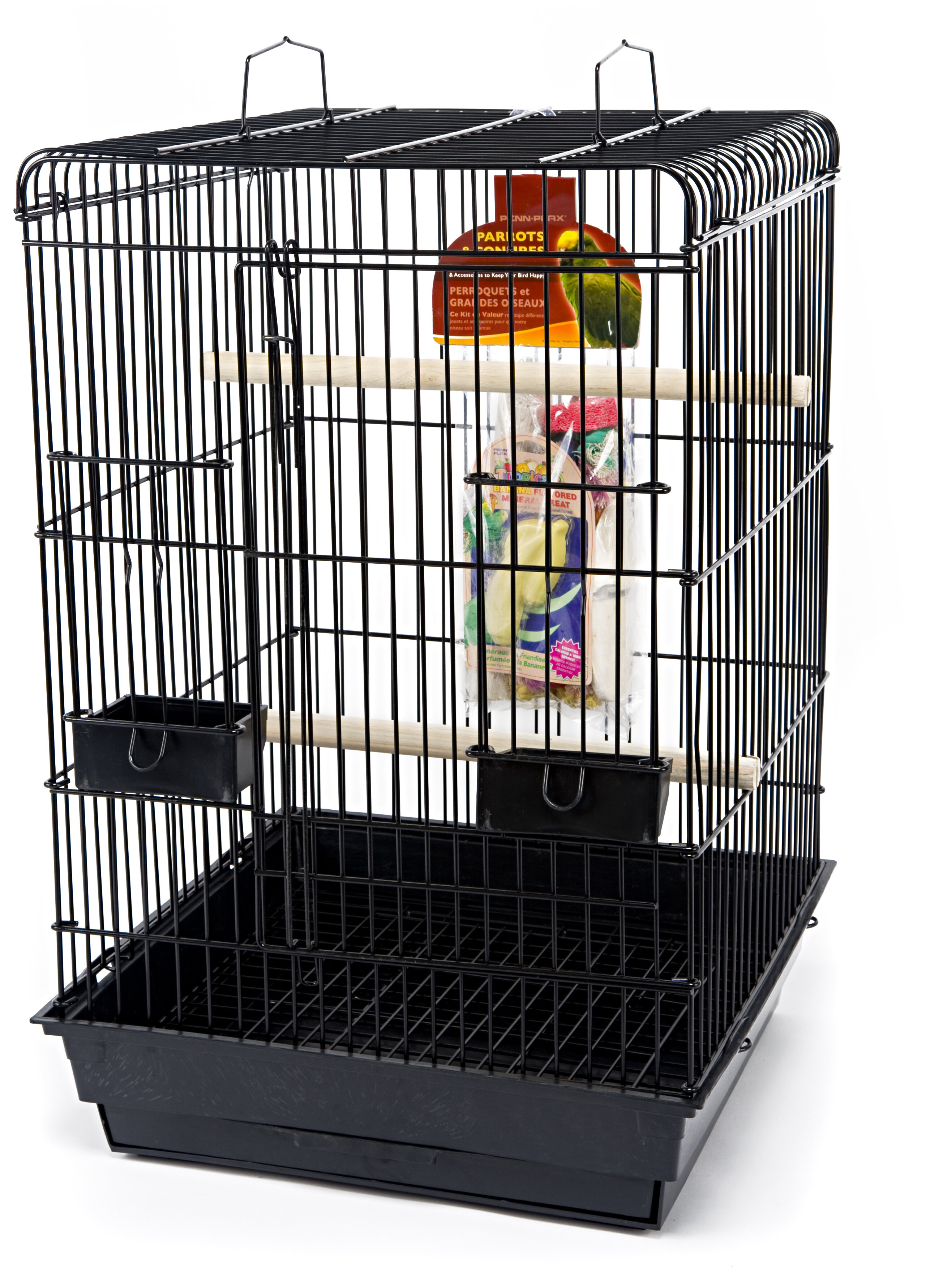 Tucker Murphy Pet Pohlman Parrot Starter Kit With Food Access Doors Wayfair