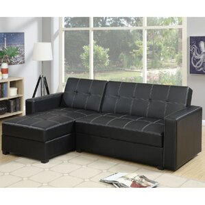 Sleeper Sectional  sc 1 st  Wayfair : leather sleeper sectional - Sectionals, Sofas & Couches