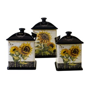 Lynchburg 3-Piece Kitchen Canister Set