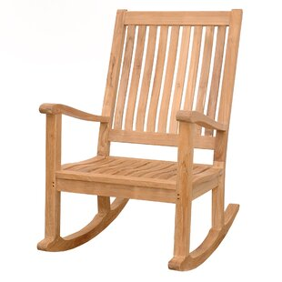 Del-Amo Teak Rocking Chair by Anderson Teak Herry Up