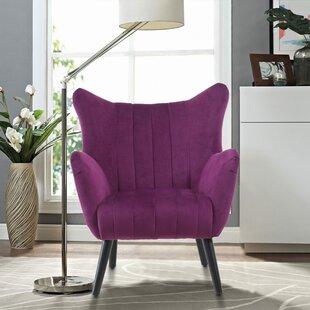 Anatoli Wingback Chair by Corrigan Studio