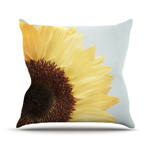 Sunshine Outdoor Throw Pillow by East Urban Home
