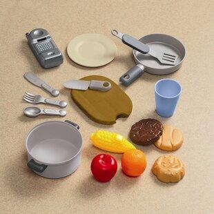Little Tikes 18 Piece Gourmet Prep 'n Serve Kitchen Set by Little Tikes