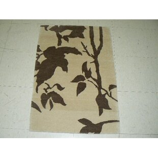 Shop For Mccleery Tibetan Hand-Knotted Brown/Beige Area Rug ByWinston Porter