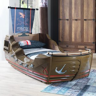 Check Prices Pirate Twin Captain Bed by CloudSeller Reviews (2019) & Buyer's Guide