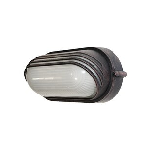 Online Reviews 1-Light Outdoor Flush Mount By TransGlobe Lighting