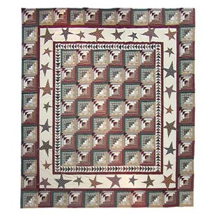 Patch Magic Woodland Star and Geese Quilt