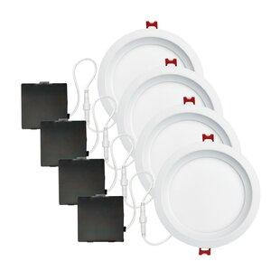 Globe Electric Company Slimline Baffle LED Recessed Lighting Kit