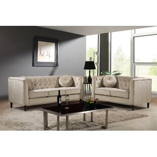 Gladiolus 2 Piece Living Room Set by Mercer41