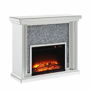 Kiley Electric Fireplace by Rosdorf Park