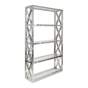 Crosshatch Etagere Bookcase