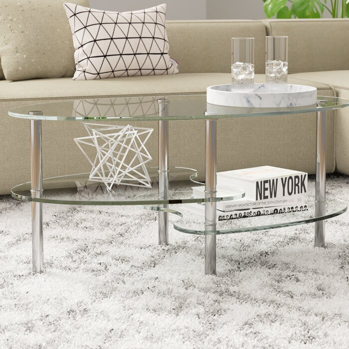 Orren Ellis Railsback Coffee Table Reviews Wayfair Ca