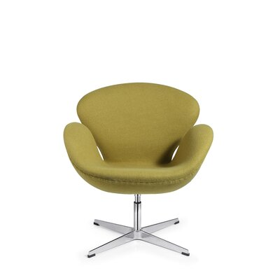Peachy Swan Swivel Lounge Chair C2A Designs Upholstery Pistachio Ocoug Best Dining Table And Chair Ideas Images Ocougorg