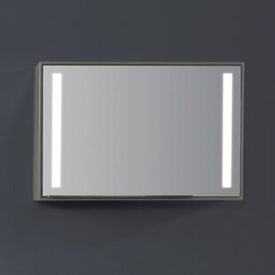 Order Stack 27 x 19.7 Surface Mount Medicine Cabinet with LED Lighting By Ronbow