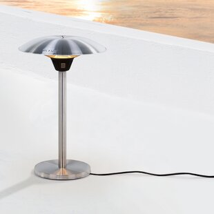 Whitney Free Standing Infrared Electric Patio Heater By Belfry Heating