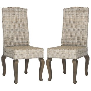 One Allium Way Brightling Upholstered Dining Chair (Set of 2)