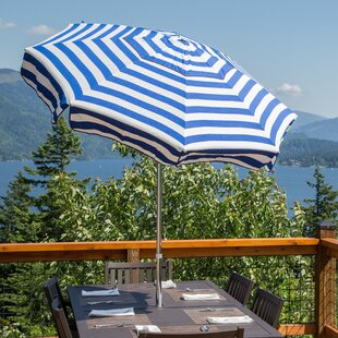 Italian 7.5' Drape Umbrella by Parasol