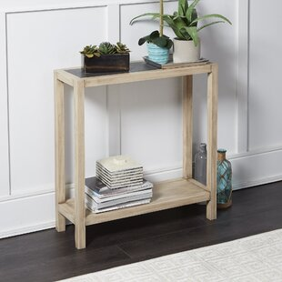 Hummel Wood Rectangle Slim Console Table