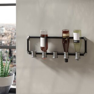 5 Bottle Wall Mounted Wine Rack by Trent ..