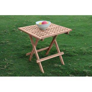 Nasim Folding Teak Bistro Table By Sol 72 Outdoor