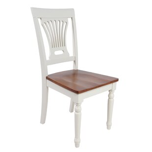 Arrow Slat Back Solid Wood Dining Chair b..
