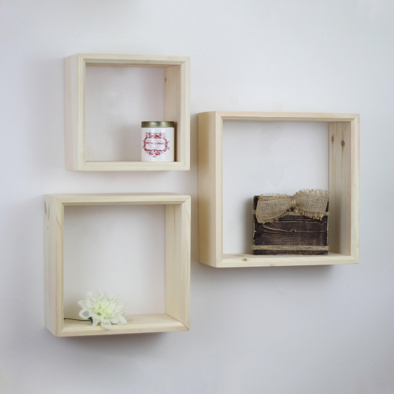 Shadow Box Shelves