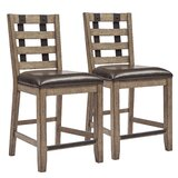 Fort Oglethorpe 25.5 Bar Stool (Set of 2) by Laurel Foundry Modern Farmhouse