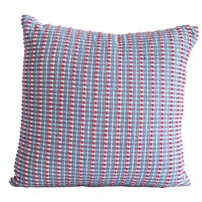 Bungalow Rose Kerney Woven Seersucker Cotton Throw Pillow