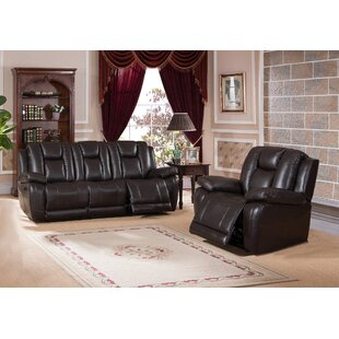 Mickey Reclining 2 Piece Living Room Set