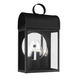 Purchase Minerva 3-Light Outdoor Wall Lantern By Darby Home Co