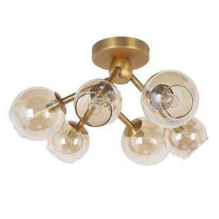 Etienne 6-Light LED Semi Flush..