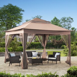 Sunjoy 10 Ft. W x 10 Ft. D Steel Patio Gazebo